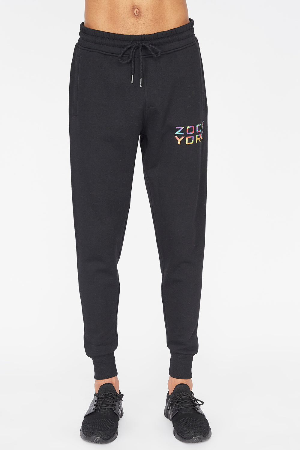 Jogger Logo Camouflage Multicolore Zoo York Homme Noir