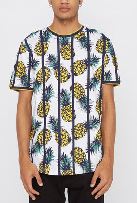 Distortion Mens Pineapple T-Shirt