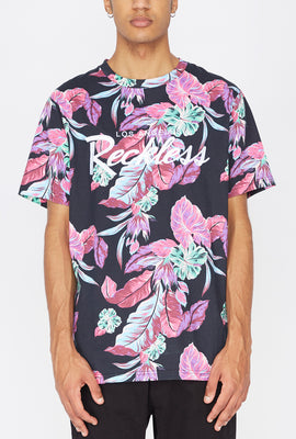 Young & Reckless Neon Floral Print T-Shirt