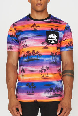 West49 Mens Sunset Pocket T-Shirt