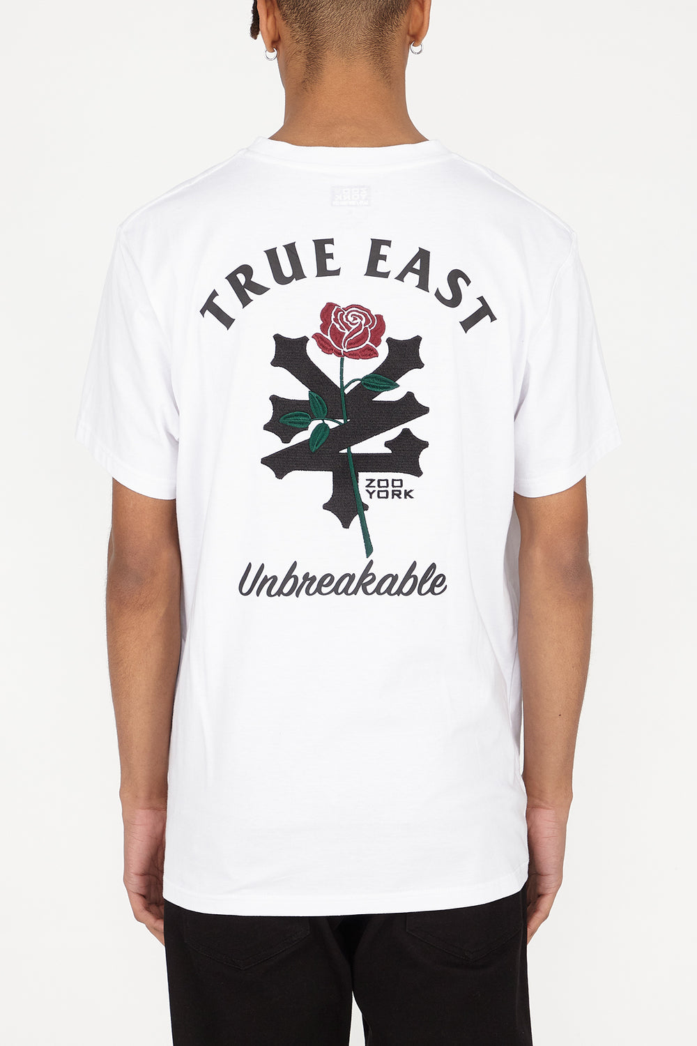 T-Shirt Blanc Unisexe True East Blanc