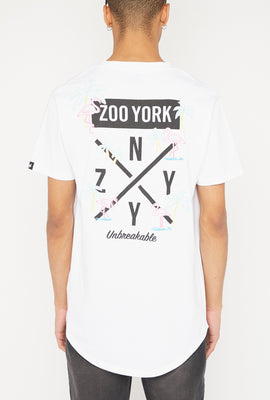 T-Shirt Logo Flamants Néons Zoo York Homme