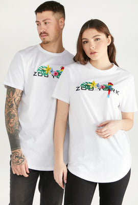 Zoo York Unisex Tropical Logo T-Shirt