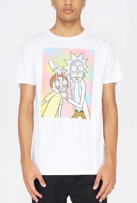 Rick & Morty Eye Stretch T-Shirt