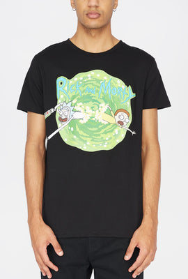 Rick & Morty Portal Jump T-Shirt