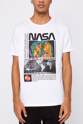 NASA Mens Graphic T-Shirt