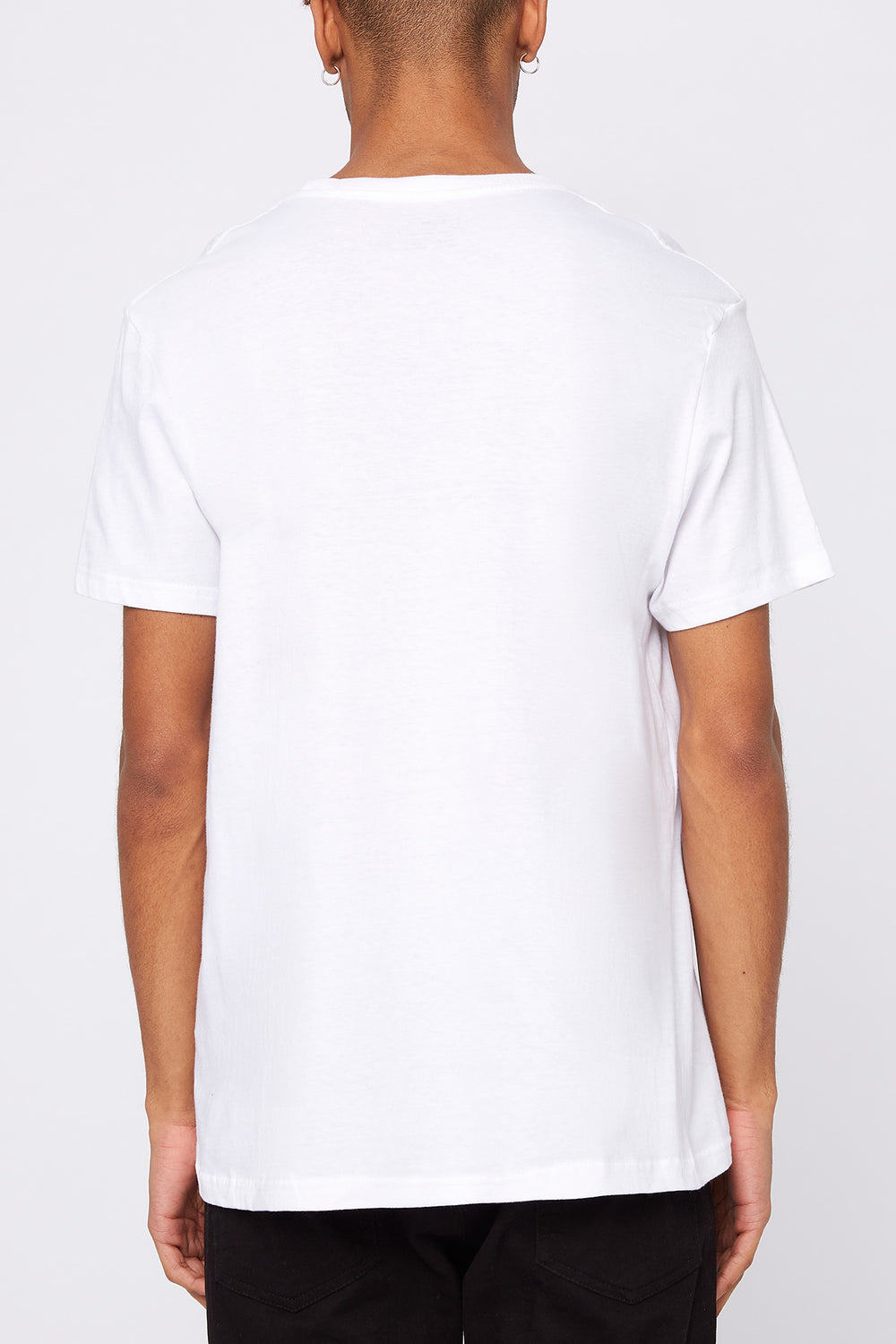 NASA Mens Graphic T-Shirt White