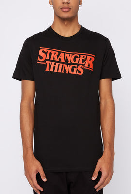 T-Shirt Imprimé Stranger Things Homme