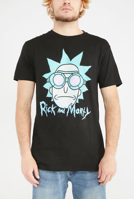 Mens Rick & Morty Goggles T-Shirt