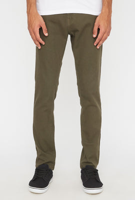 Zoo York Mens Stretch Skinny Colour Jeans