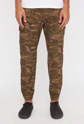 Jogger Cargo Camouflage West49 Homme