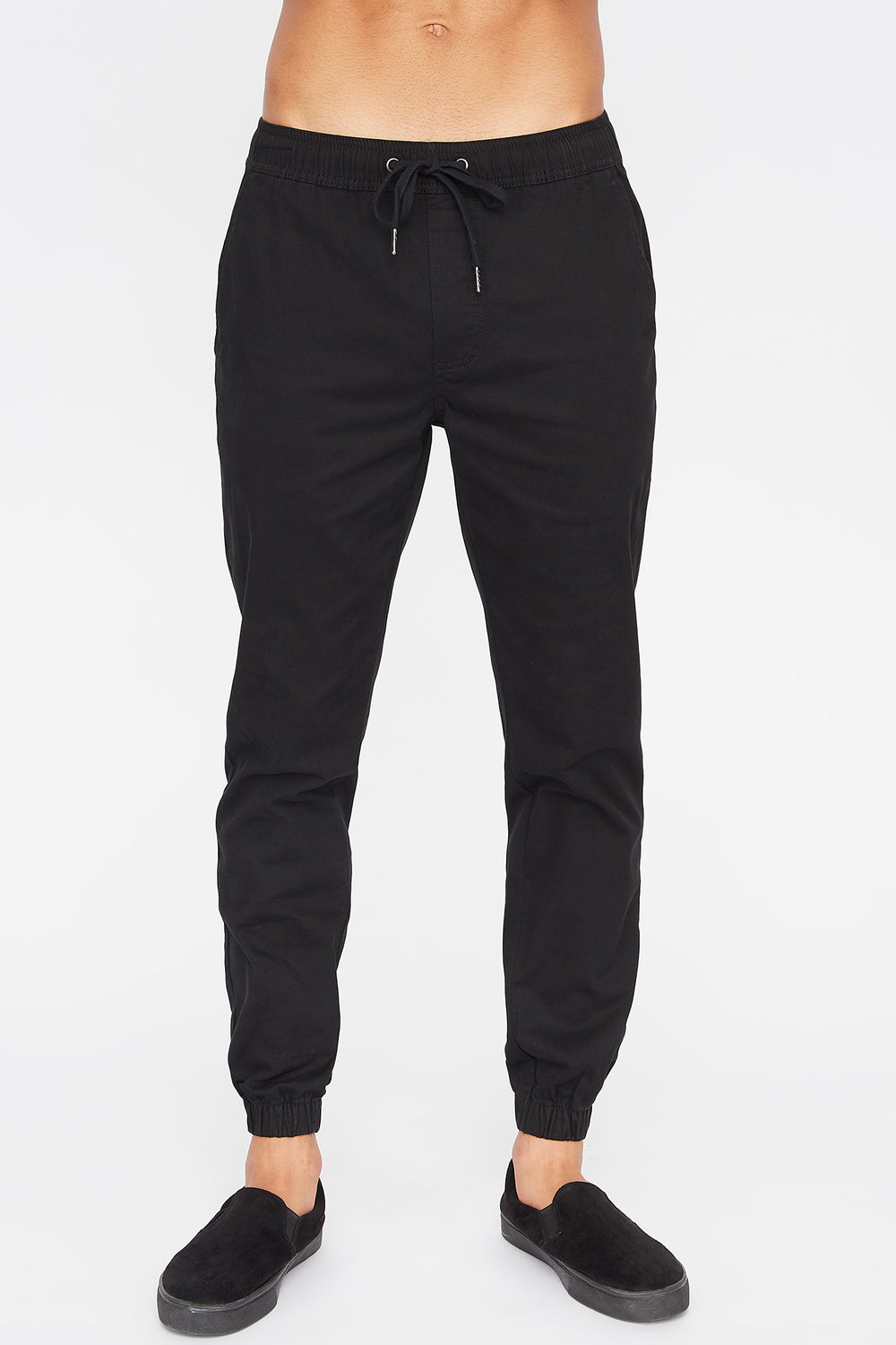 West49 Mens Jogger Black