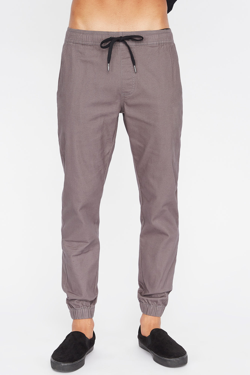 West49 Mens Jogger Heather Grey