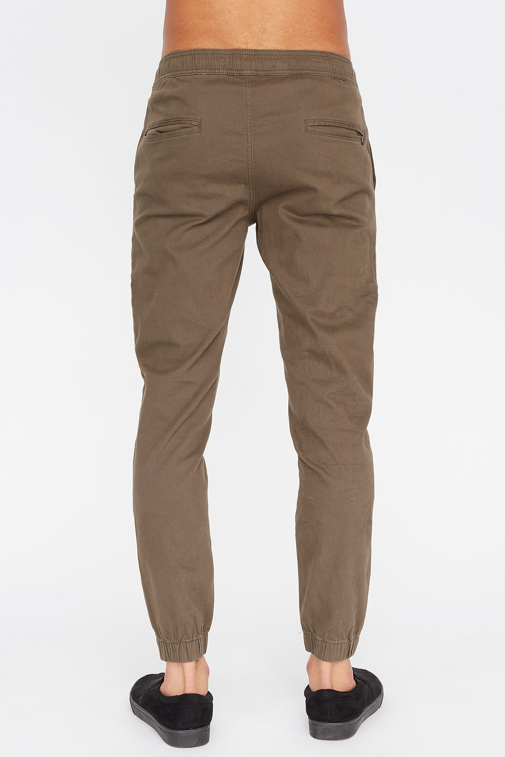 West49 Mens Jogger Khaki