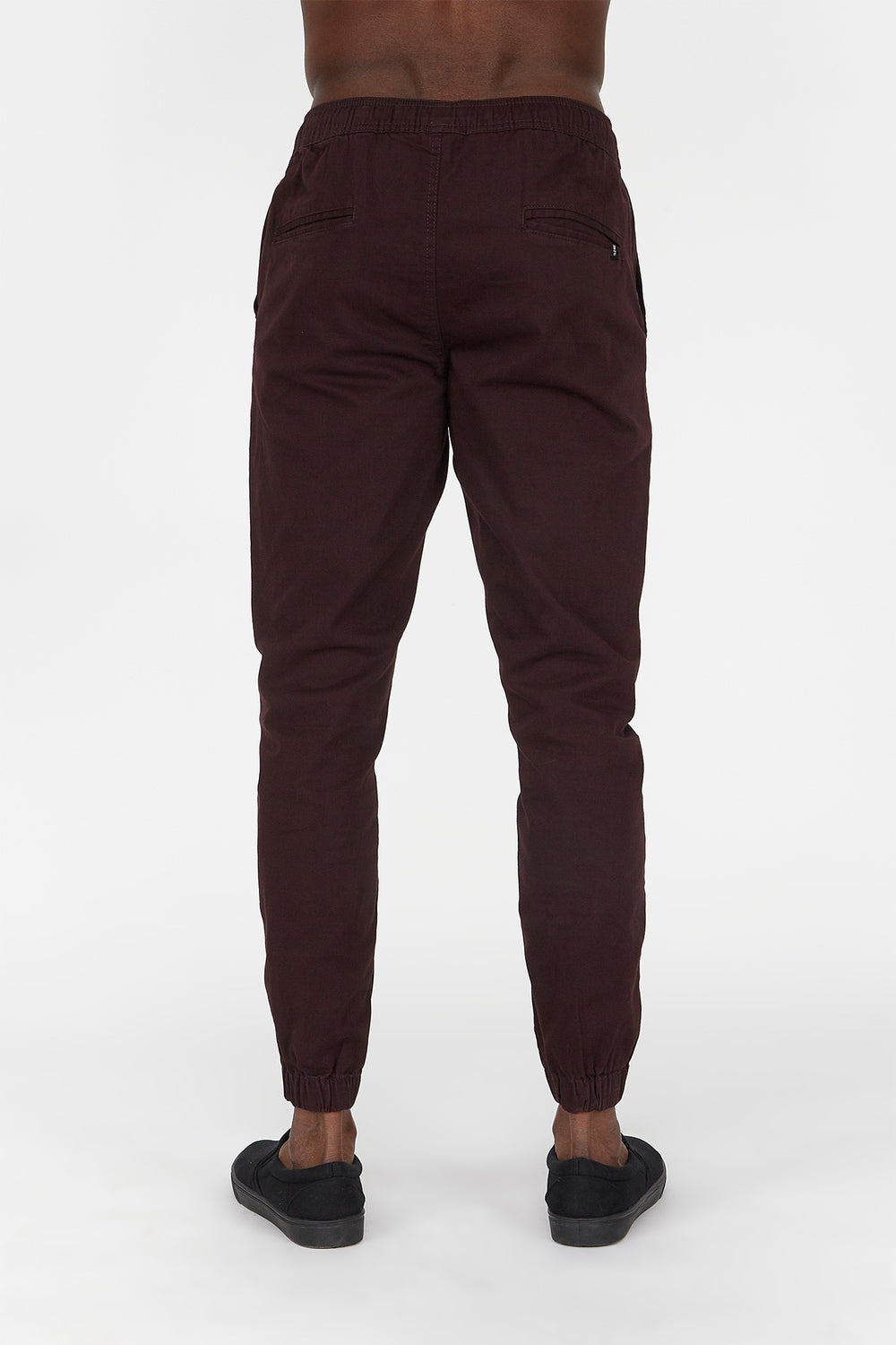 West49 Mens Jogger Burgundy