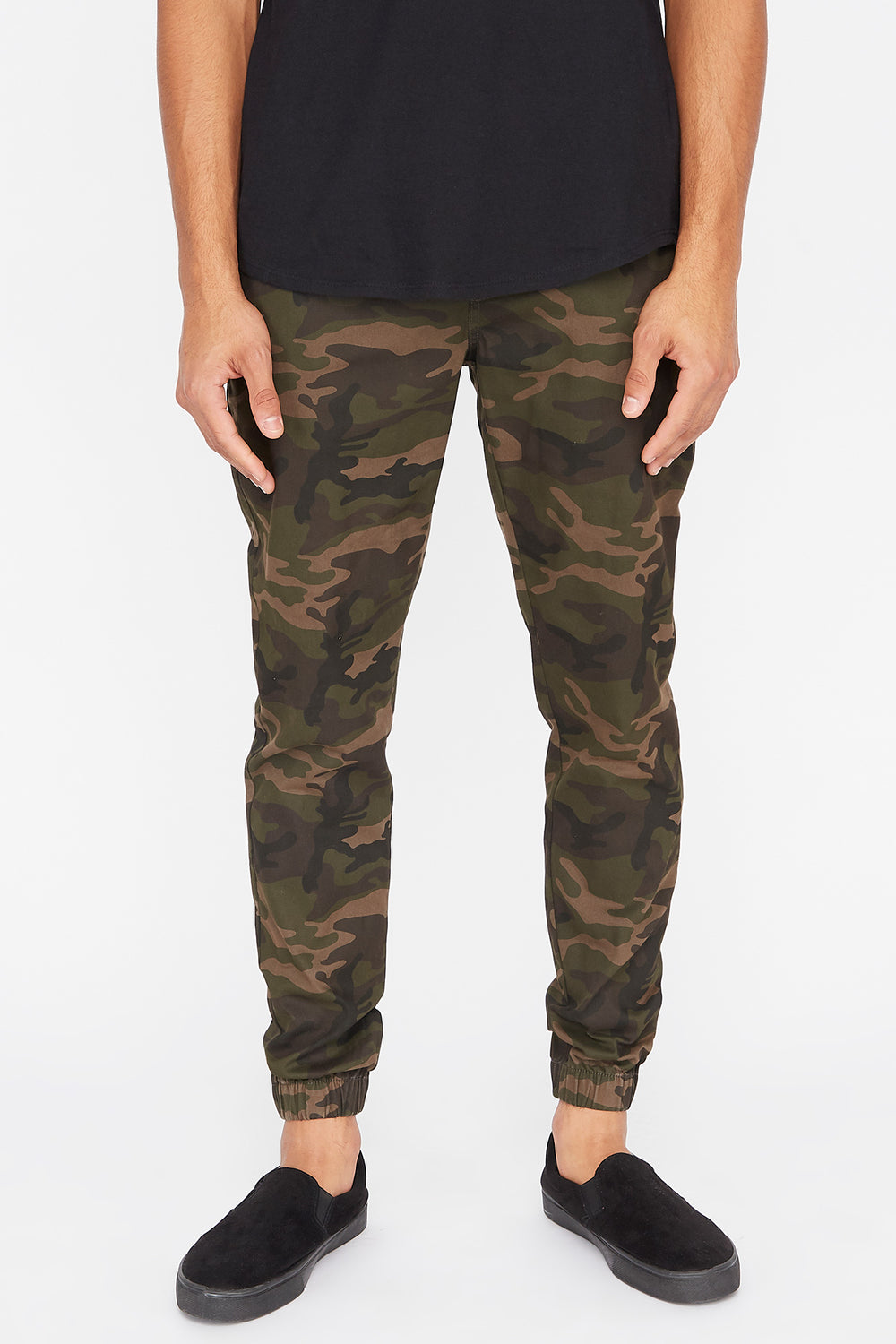 Jogger Camo West49 Homme Camoufle