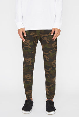Zoo York Mens 5-Pocket Camo Jogger