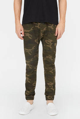 Jogger Moto Camouflage West49 Homme