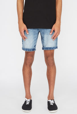 Zoo York Mens Stretch Slim Denim Short