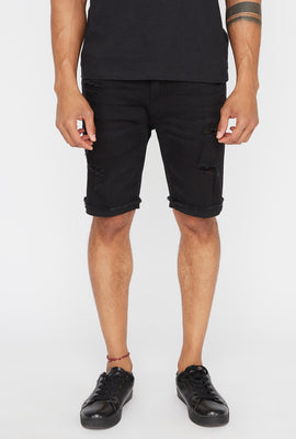Short Jean Aspect Usé Zoo York Homme