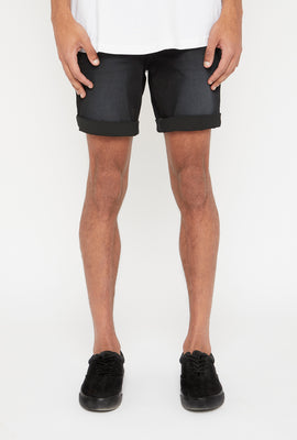 Short en Denim Noir Zoo York Homme