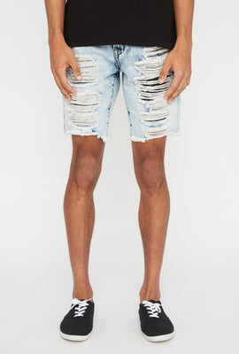 Zoo York Mens Distressed Slim Short