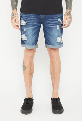 Zoo York Mens 5 Pocket Dark Denim Short