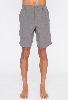 West49 Mens Solid Hybrid Boardshorts