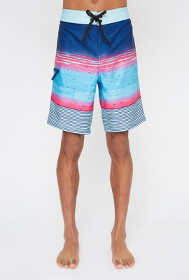 REPREVE® Mens Multicolour Board Shorts