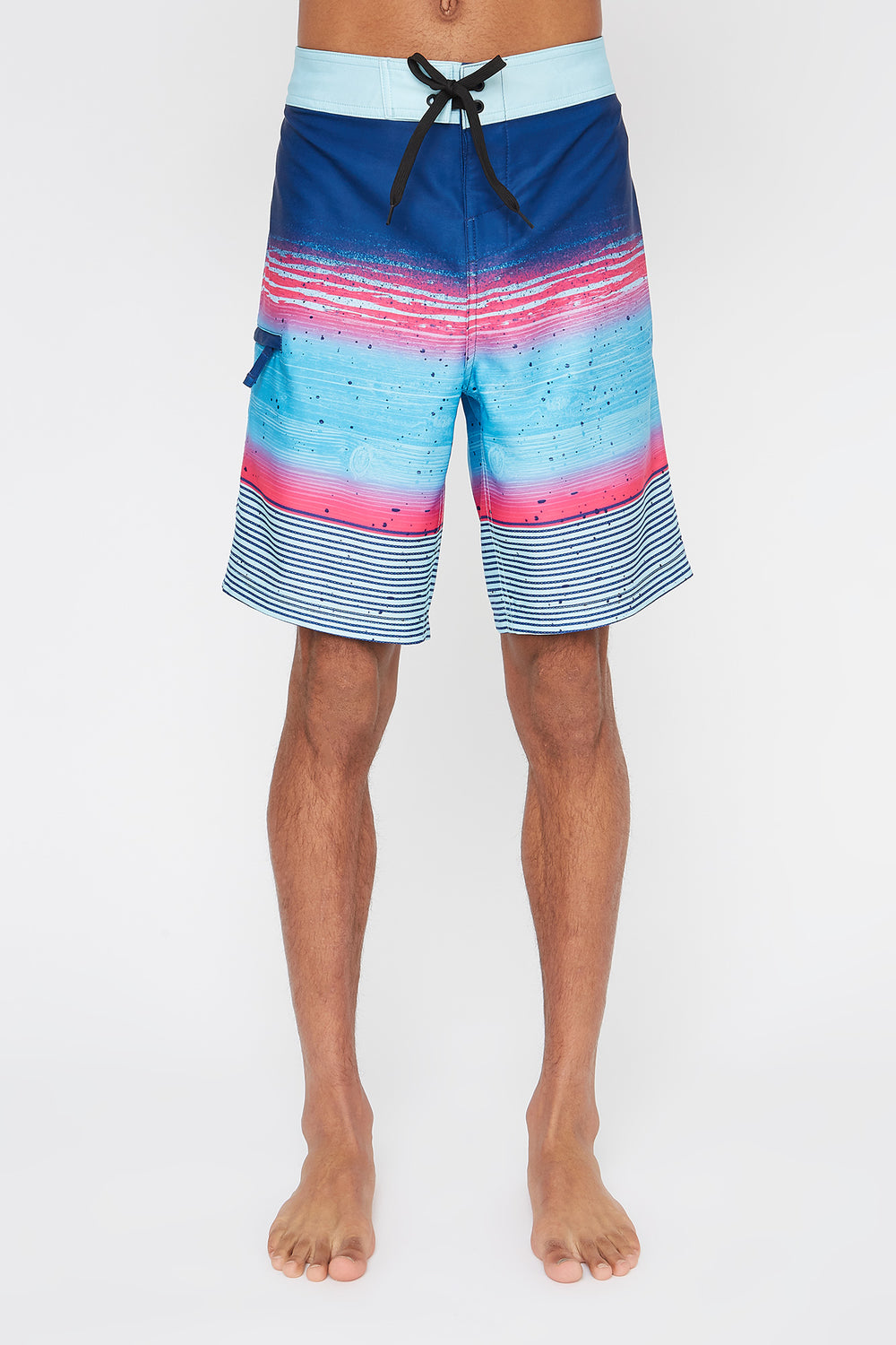 REPREVE® Mens Multicolour Board Shorts Blue