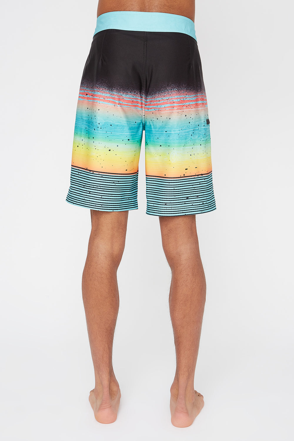 REPREVE® Mens Multicolour Board Shorts Sage
