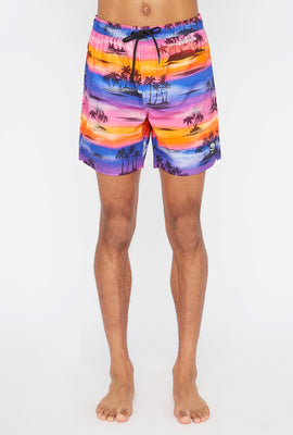 West49 Mens Sunset Boardshort