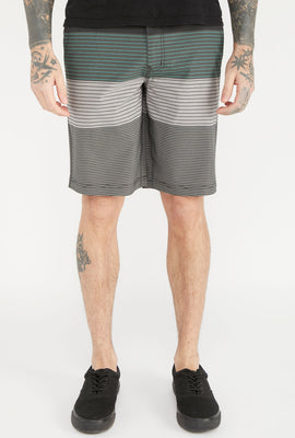 West49 Mens Striped Boardshorts