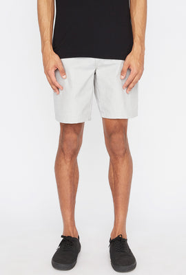 Zoo York Mens Textured Street Short