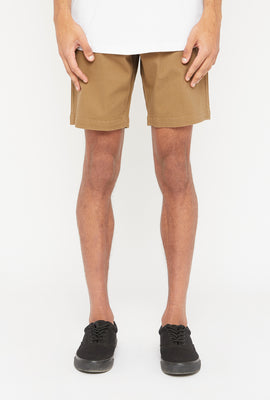 West49 Mens Solid Chino Short