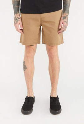 Zoo York Mens Solid Pull-On Short