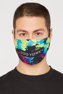 2-Pack Zoo York Washable & Reusable Tie Dye Protective Face Mask