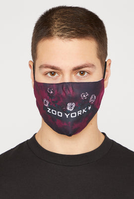 2-Pack Zoo York Washable & Reusable Burgundy Protective Face Mask