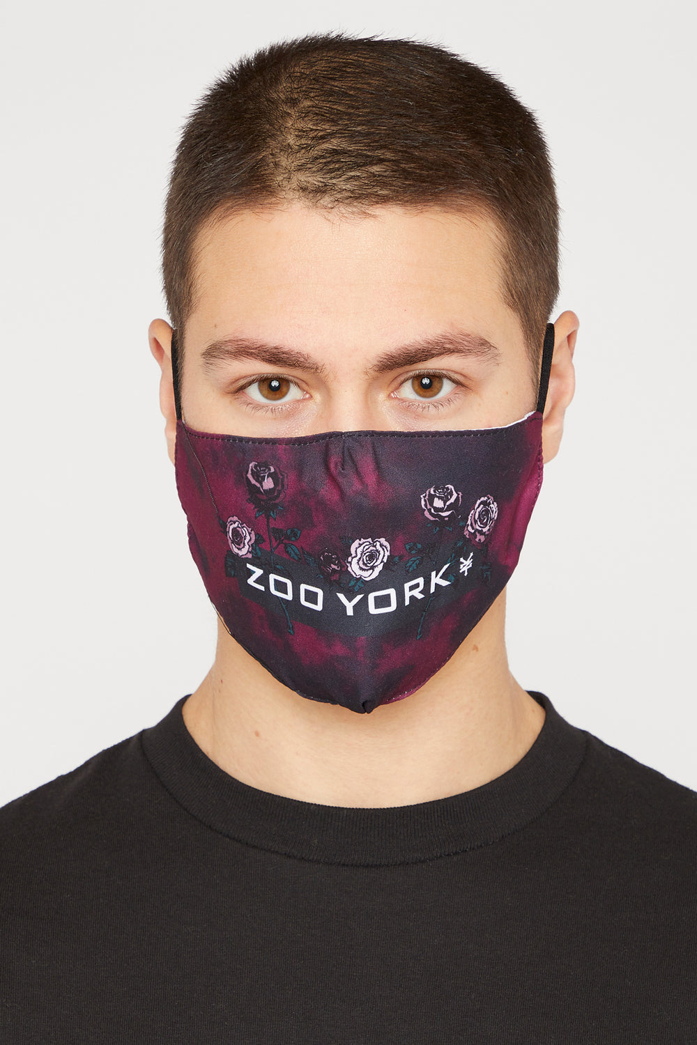 2-Pack Zoo York Washable & Reusable Burgundy Protective Face Mask Burgundy