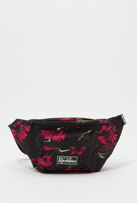 Sac Banane Imprimé Floral Fluo Young & Reckless