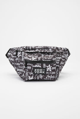 Zoo York Graffiti Print Fanny Pack