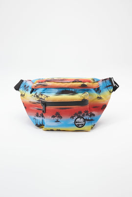 West49 Palm Tree Print Fanny Pack