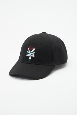 Zoo York Unisex Embroidered Rose Logo Hat