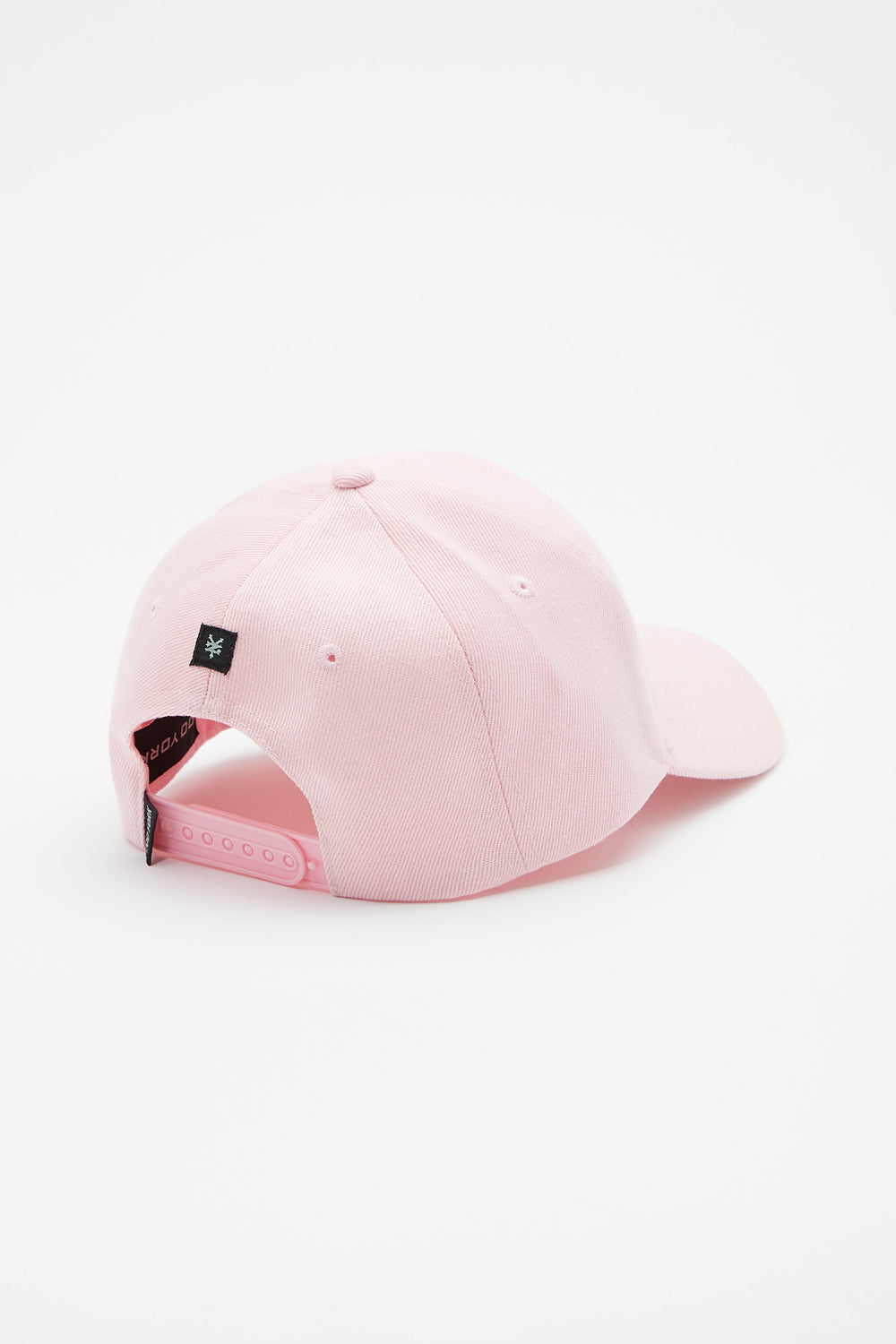 Casquette Unisexe Logo Rose Brodé Zoo York Dragee