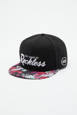Casquette Florale Young & Reckless Homme