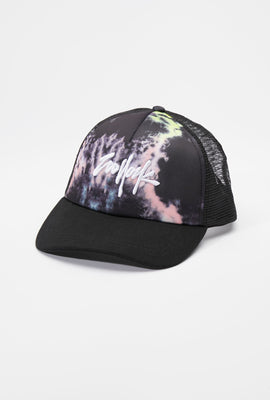 Zoo York Mens Tie-Dye Trucker Hat
