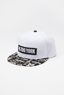 Zoo York Mens Graffiti Print Snapback Hat