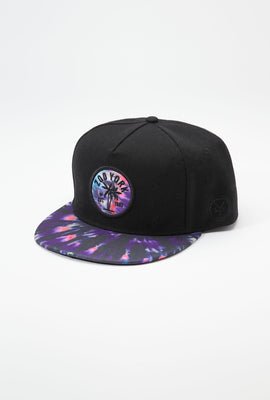 Zoo York Mens Tie-Dye Brim Hat