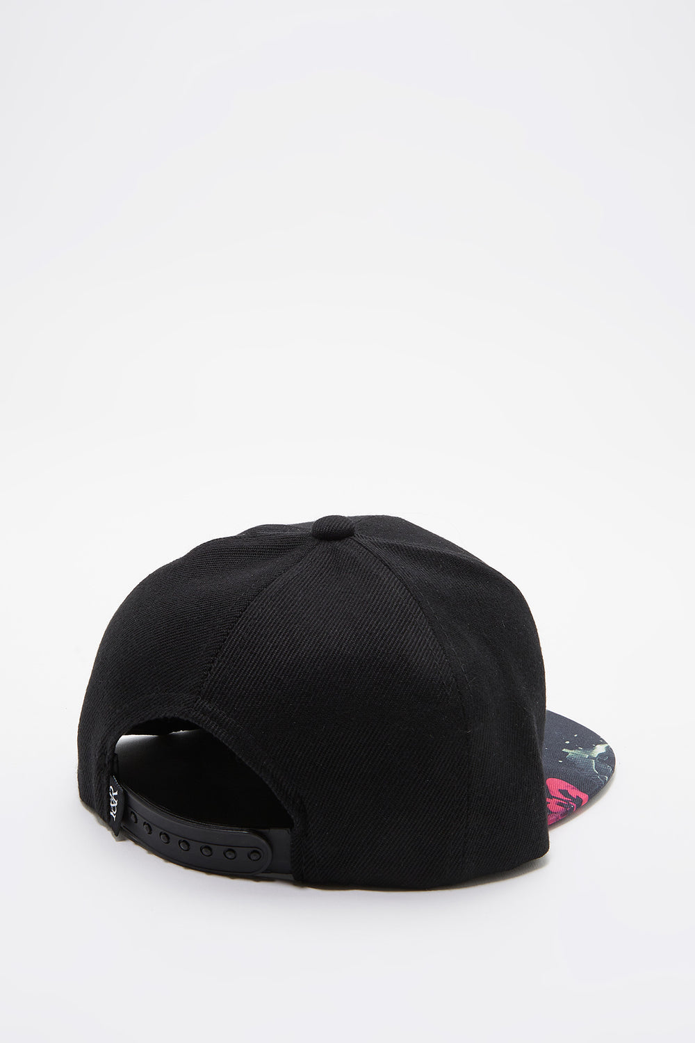 Young & Reckless Mens Electric Floral Hat Black
