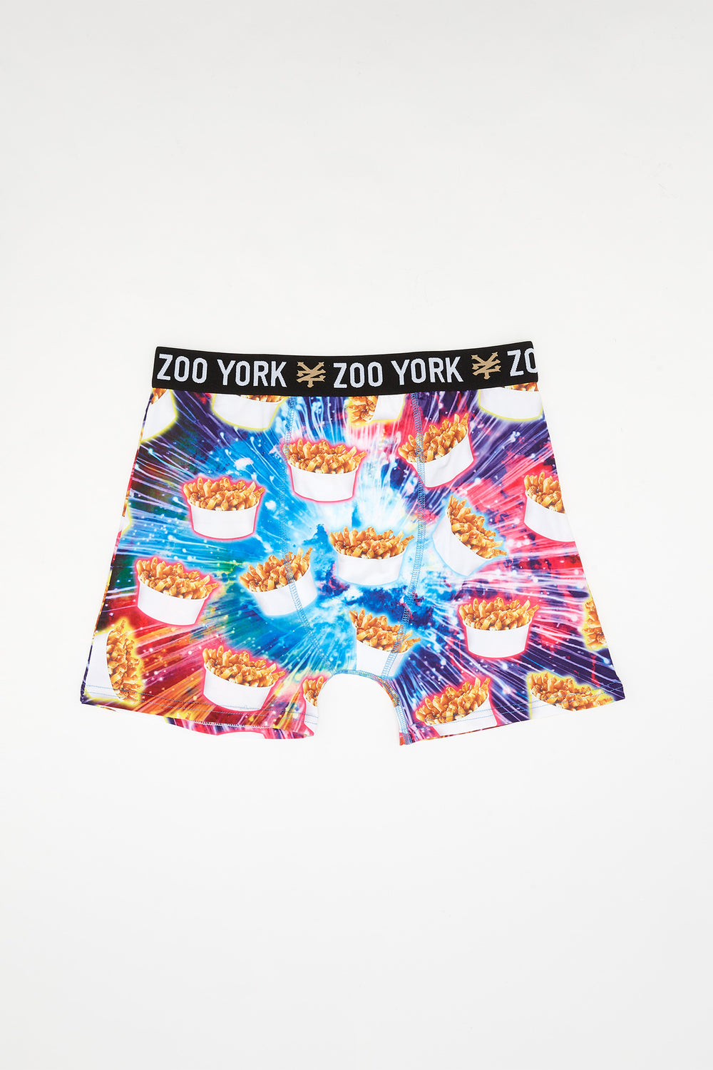 Zoo York Mens Poutine Boxer Brief Pink